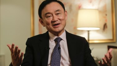 Former Thai prime minister Thaksin Shinawatra has angrily rejected suggestions that he is behind the wave of attacks on Thai tourist sites.
