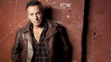 Bruce Springsteen, actually happy to be returning to Australia