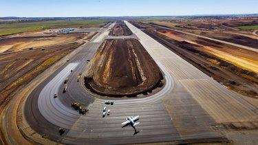 Brisbane West Wellcamp Airport near Toowoomba.