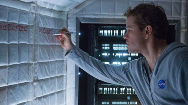 Matt Damon's character became unexpectedly self-sufficient in The Martian.
