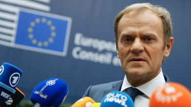 European Union Council President Donald Tusk fears for democracy.