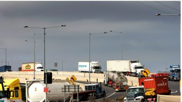 Heavy vehicle operators have cried foul over the looming jump in CityLink costs