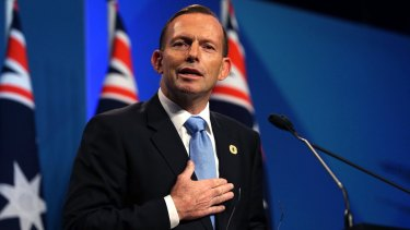 """Conversion"" runs aground: Prime Minister Tony Abbott."