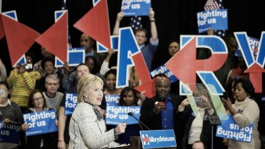 Hillary Clinton beat Bernie Sanders by a huge margin to secure the state.