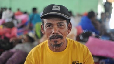 Wayan Pugeng remembers the 1963 earthquake.