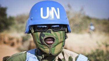 There are more than 120,000 UN peacekeepers in 16 conflict areas across the globe.