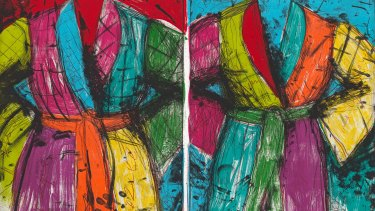 Jim Dine: A Life in Print features 100 prints spanning 45 years of work.