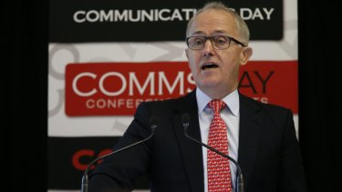 "Canvassing options: Work on online copyright infringement is ""fairly well advanced"", says Malcolm Turnbull."