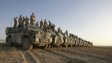 Australian troops have been in Afghanistan since 2001.
