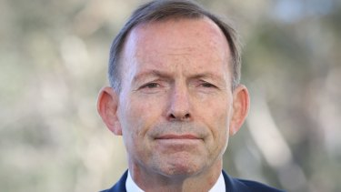 Tony Abbott's office says his controversial climate change speech was privately funded.