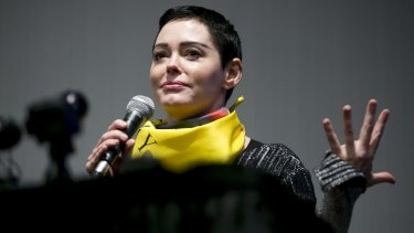 Rose McGowan claims to have been snubbed by the Golden Globes despite spearheading movement that led to Times Up campaign.