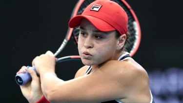 Ashleigh Barty is ranked No1 in the world.