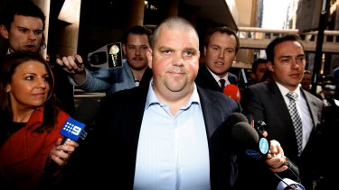 From billionaire to bankrupt: Nathan Tinkler.