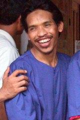 Executed by firing squad: Bali bomber Mukhlas at Batu.