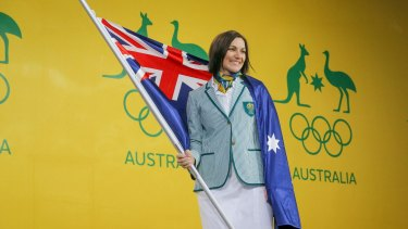 Anna Meares will be Australia's flag bearer at Rio Olympics.