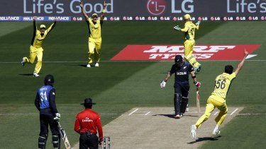 ICC Cricket World Cup final: Brendon McCullum huffs and puffs but has house  blown down by Mitchell Starc