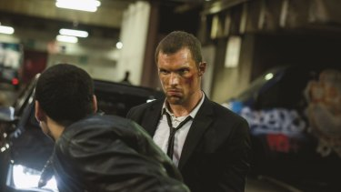 Frank Martin (played by Ed Skrein) doesn't have much of a personality in <i>The Transporter Refueled</i>.