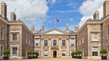 Althorp Estate, the Spencers' ancestral home in the Midlands.