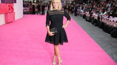Helen Fielding in London at the world premiere of the film of her novel Bridget Jones's Baby.