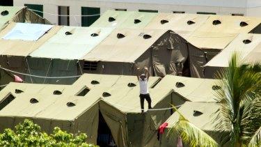 Nauru detetion centre.