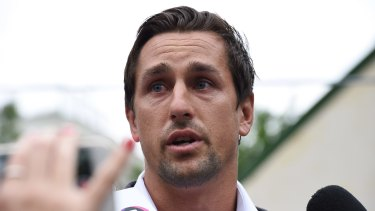 Tough lessson: Sydney Roosters' Mitchell Pearce.