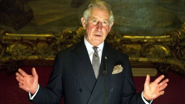 The Prince of Wales invited NSW Planning Minister Rob Stokes to meet him in London.