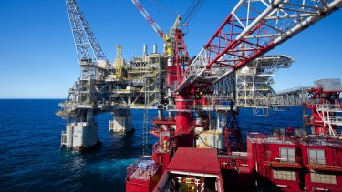 Chevron's $34 billion Wheatstone LNG project in Western Australia is due to start production mid-year.