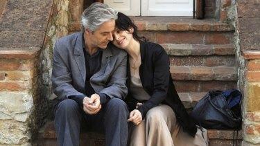 William Shimell and Juliette Binoche in Kiarostami's 2011 film Certified Copy.