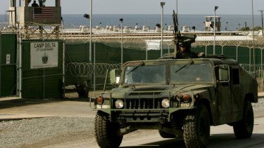 The maximum security prison Camp Delta at Guantanamo Naval Base, where Hambali has been held.