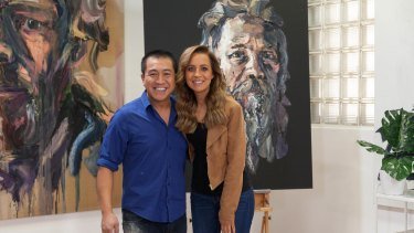 Carrie Bickmore on Anh's Brush with Fame.