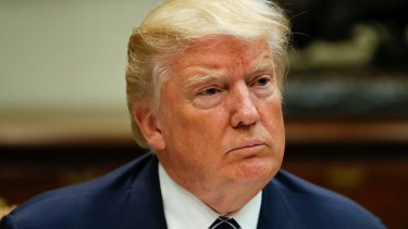 US President Donald Trump expressed regret at hiring Jeff Sessions.