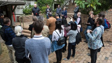 Save Our Sirius Foundation has organised walking tours to raise appreciation of the city's built heritage.