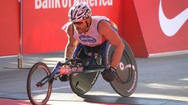 No time for cheats: Kurt Fearnley has won marathons around the world.