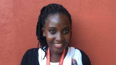 Sharifah Nalugo, 21, is living with HIV.