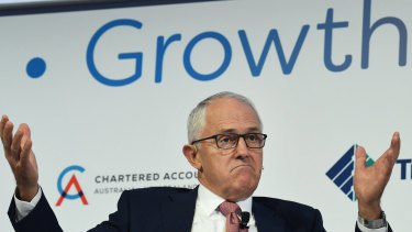 "Malcolm Turnbull said that Indonesian President Joko Widodo understands that protectionism ""is not a ladder to get out of the low growth track""."