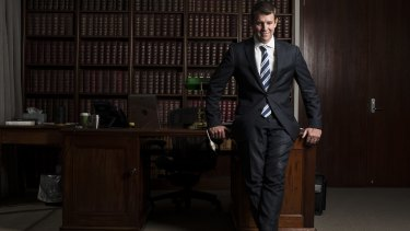 NSW Premier Mike Baird on Wednesday.