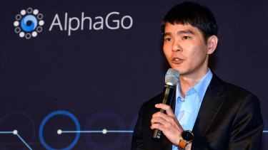 South Korean professional Go player Lee Se-Dol pictured after the match against Google's artificial intelligence program, AlphaGo in March last year.