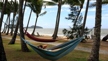Queensland's Palm Cove tops the list of beaches most likely to go.
