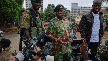 Zimbabwe's Army General Moyo.