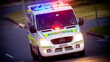 The woman suffered serious head injuries and died in hospital.