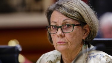 Former ICAC Commissioner Megan Latham was ousted from office by an Act of Parliament.