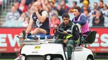 A sad departure for Chris Judd, one of the most electric players of the modern  AFL era.
