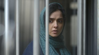 Life starts to unravel for Rana, played by Taraneh Alidoosti, in <i>The Salesman</I>.