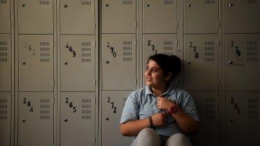 Cabramatta High School student Nina Odesyan.