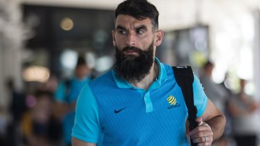 Mile Jedinak has been struggling with a groin injury this year.