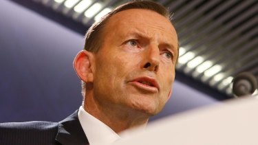 """""""Heightened level of terror chatter"""": Prime Minister Tony Abbott said that intelligence officials and the National Security Committee are convinced a terror attack was likely."""