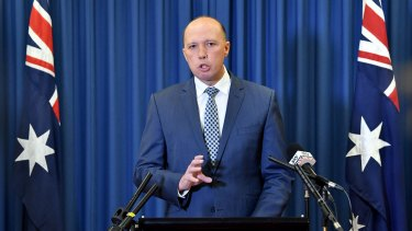 Peter Dutton will head the new Home Affairs ministry.