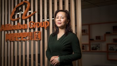 Maggie Zhou, Australia and New Zealand managing director for Chinese e-commerce company Alibaba Group.