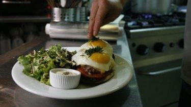 Eggs are a staple on Australian brunch menus.