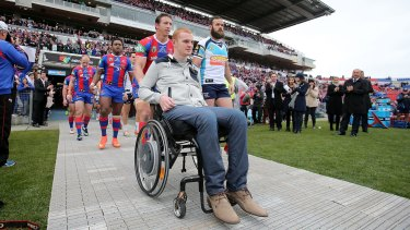 Support: Alex McKinnon has been working with the Newcastle Knights in player recruitment.